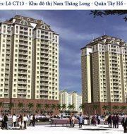 Tòa CT13 – Khu đô thị Nam Thăng Long- Tây Hồ – Hà Nội