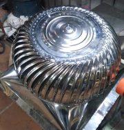 Hình ảnh quả cầu hút nhiệt inox công ty Sơn Mỹ