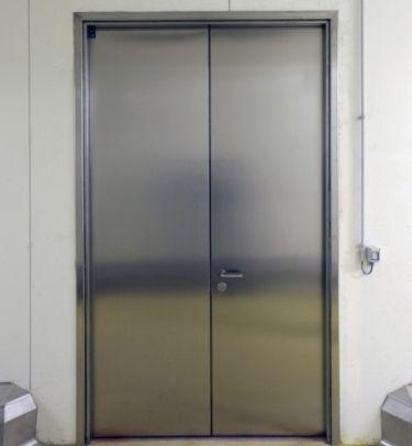 cửa chống cháy inox
