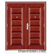 3 ưu điểm vượt trội của cửa thép chống cháy vân gỗ