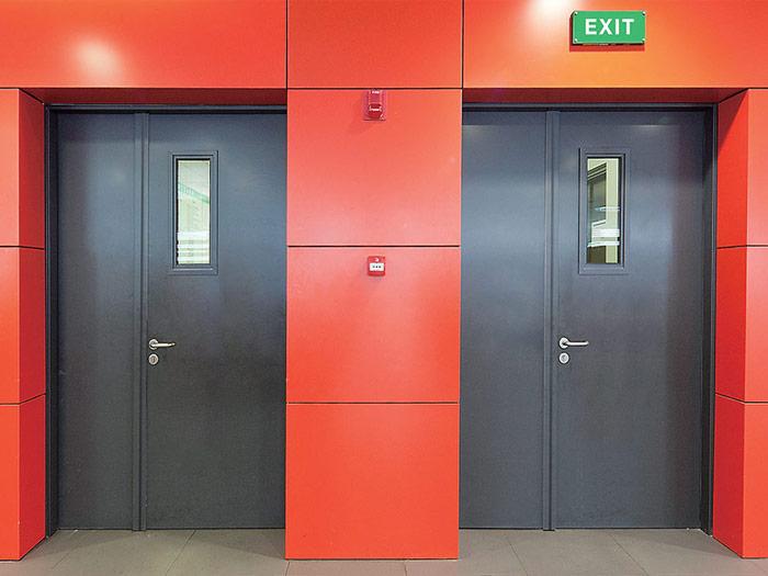 Những đặc điểm nổi bật cấu tạo và chức năng của cửa chống cháy
