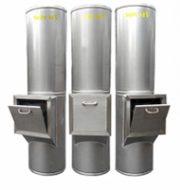 Ống thu rác inox SM02
