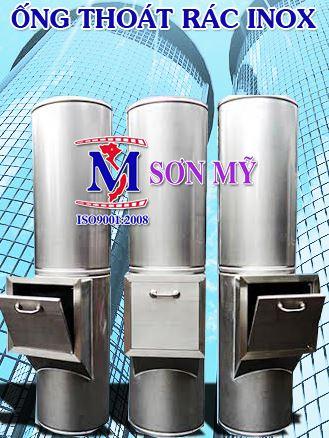 Ống thoát rác inox SM02
