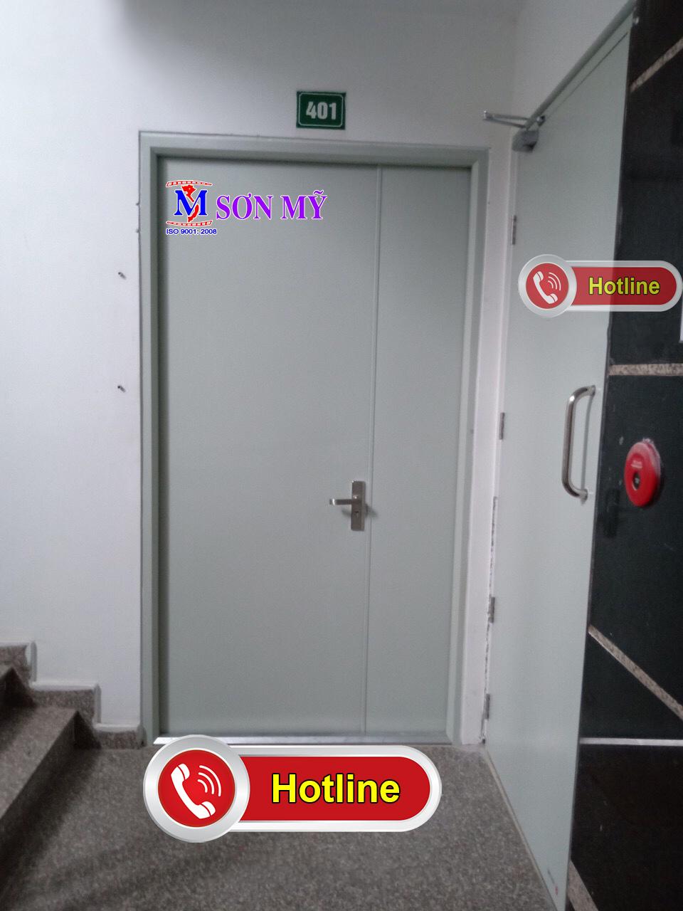 Cửa thoát hiểm chống cháy