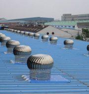 Quả cầu thông gió – 1 trong số 6 giải pháp chống nóng cho nhà lợp mái tôn