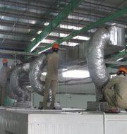 Giới thiệu thi công cách nhiệt ống gió Sơn Mỹ
